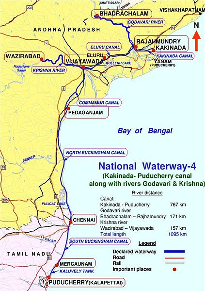 Indias National Waterways NW-4