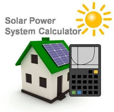 Solar Power System Cost Calculator for India